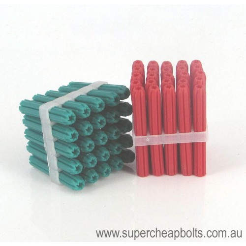 8144 - Plastic Wall Plugs - Chamfered End
