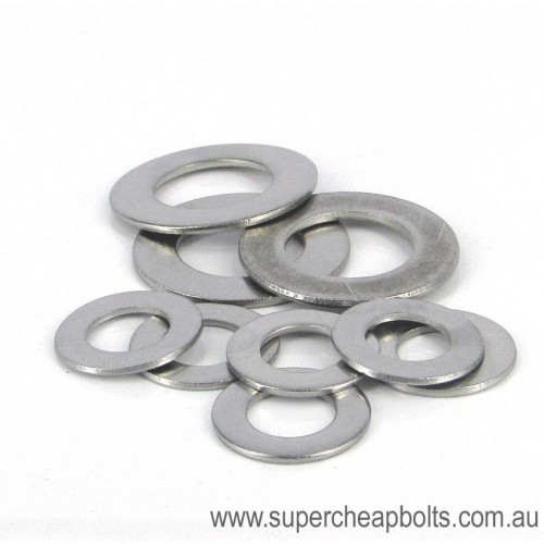 307203436 - Metric Series - Stainless Steel - Flat Round Washers