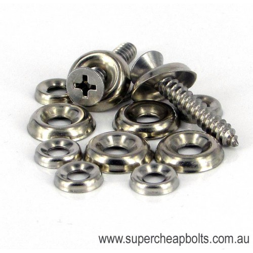 30207 - Cup Washer - Nickle Plated