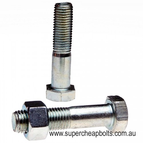 10141 - Metric Coarse Class 4.6 Hex Head Bolt & Nut With Complementary Washers