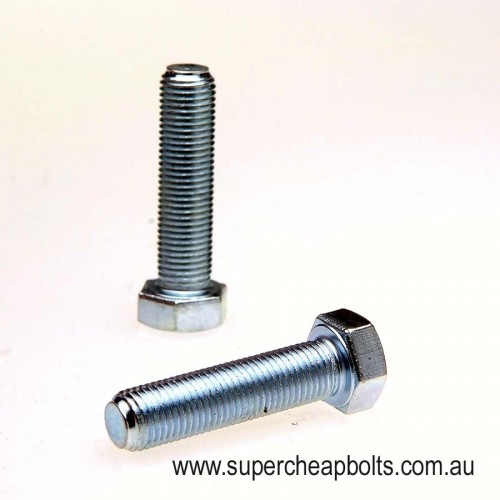 20193 - UNF Grade 8 High Tensile Hex Head Set Screw (Full Thread) With Complementary Washers