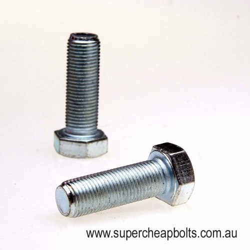 1015464 - Metric Fine Class 8.8 High Tensile Hex Head Bolt (Standard Head Size) With Complementary Washers