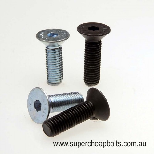 209403 - Metric Coarse - Flat (Countersunk) Head - Socket Screw - Grade 10.9 Alloy Steel