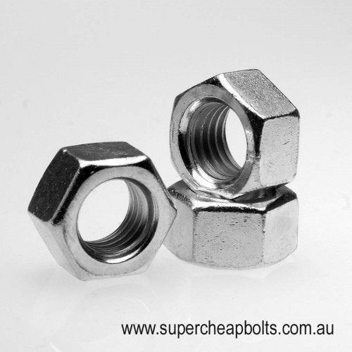 4018393 - Imperial - Grade 8 - High Tensile - Hex Nuts