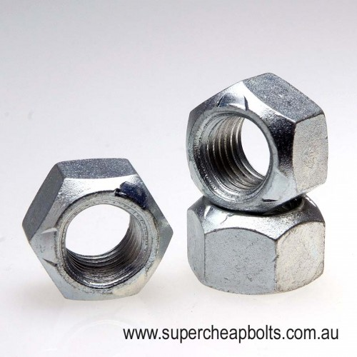 4104565 - Metric - Class 10 - High Tensile - Zinc Plated - Conelock Nut