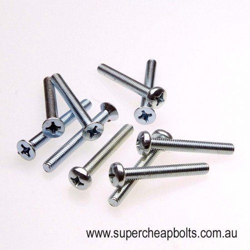 20431215 - BSW (Imperial) - Machine (Metal Thread) Screw