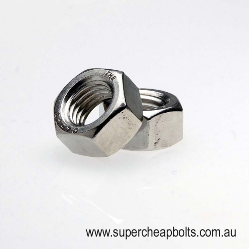 40133436 - BSW - Stainless Steel - Hex Nuts