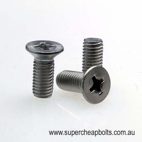 20443436 - Metric Coarse - Stainless Steel - Machine (Metal Thread) Screws