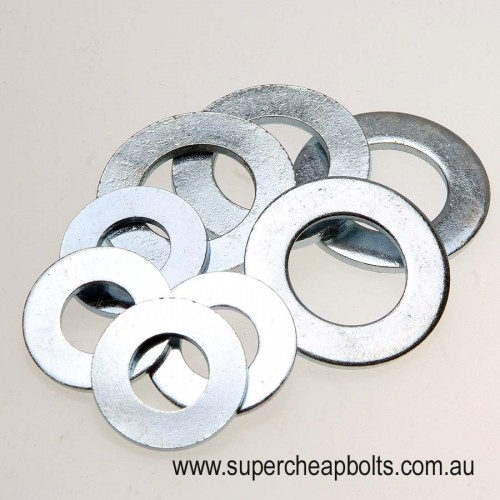 305010610 - Metric Series - Commercial (Mild Steel) - Round Flat Washers