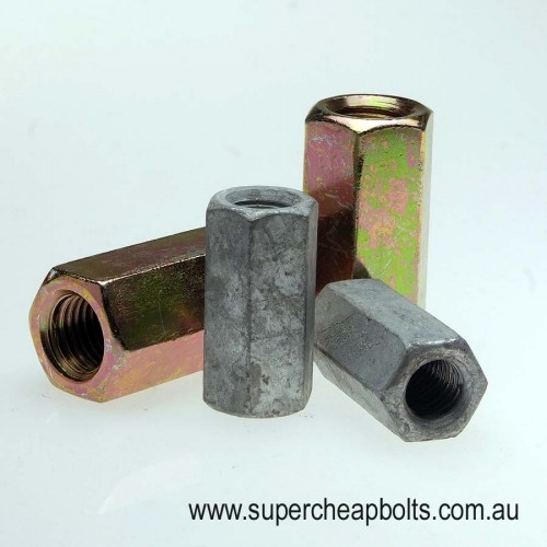 50348 - Metric Coarse - Class - Low Tensile - Hex Rod Coupler