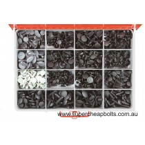 CA2085 (690 pieces) Xmas Tree Clips. 16 Types