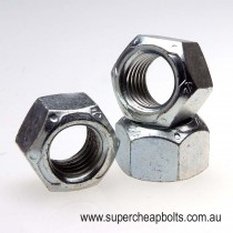 4108898 - Imperial - Grade C - High Tensile - Zinc Plated -Conelock Nut